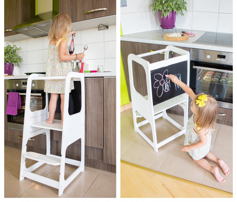 Väikelapse trepp, Kitchen tower, UUED TOOTED, Söötmistoolid, Lastelauad, toolid, Arvuti-ja kirjutuslauad, Lastetoolid, Beebi- ja lastetarbed, Lastemööbel ja sisustus