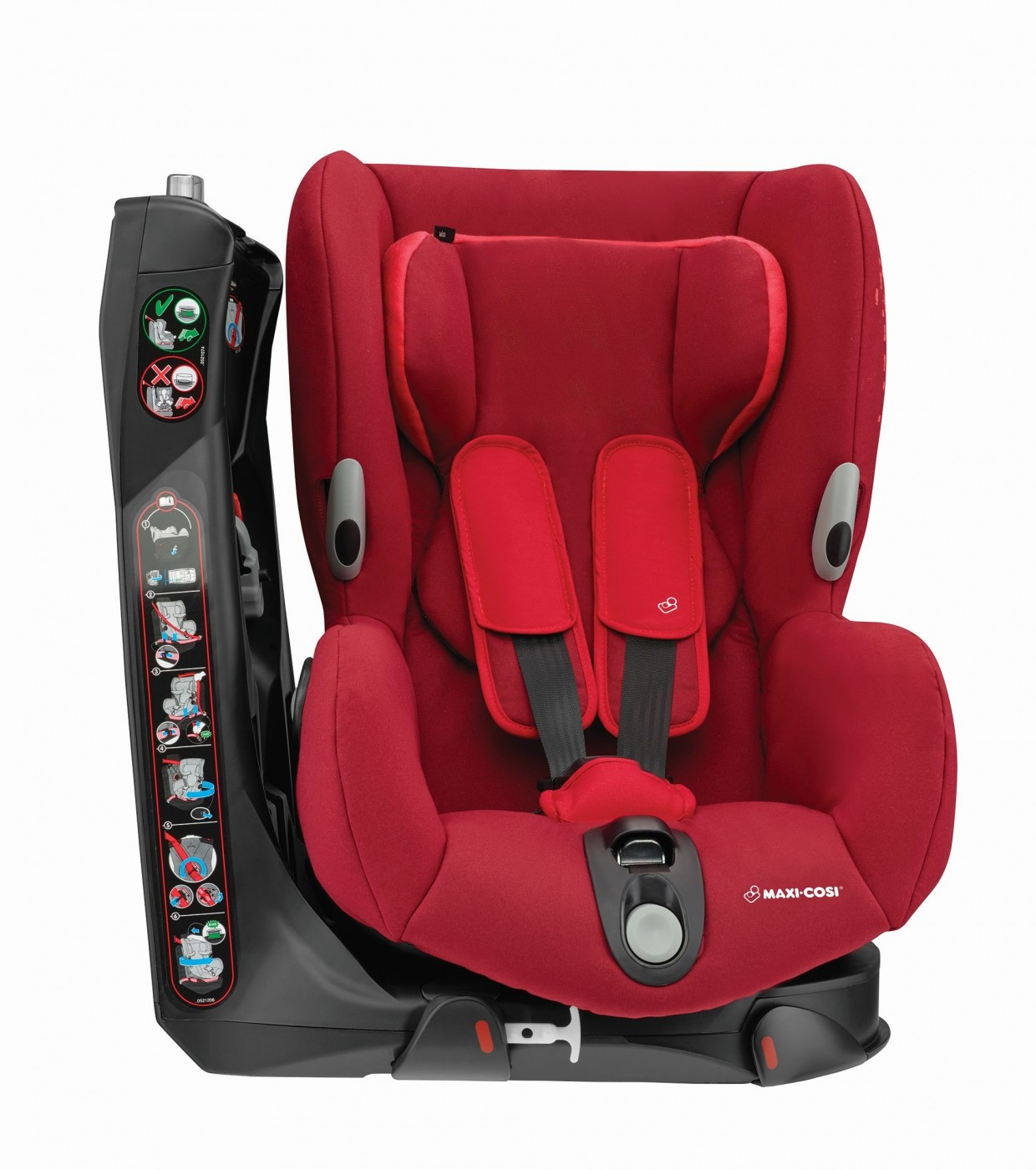 Maxi-Cosi Axiss turvatool, Vivid Red, UUED TOOTED, Turvatoolid, hällid, Turvatoolid 9-18 kg, Turvavarustus