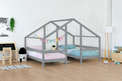 Majavoodi Villy kahekohaline 90x200, Laste- ja noortevoodid, UUED TOOTED, 90cm laiused, Lastemööbel ja sisustus
