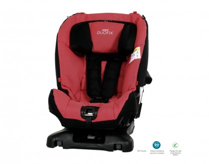 Axkid turvatool Duofix 9-25kg, Punane, UUED TOOTED, Turvatoolid, hällid, Turvatoolid 9-25 kg, Turvavarustus, Axkid
