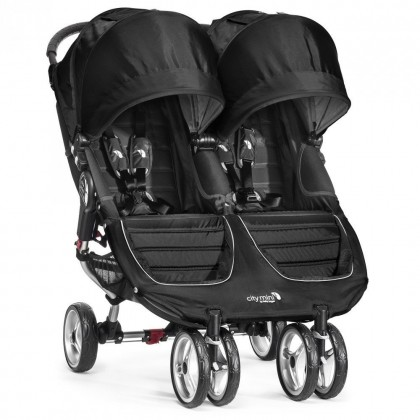 Baby Jogger jalutuskäru City Mini Double, Black, UUED TOOTED, Lastevankrid ja kärud, Jalutuskärud, Baby Jogger, City Mini Double
