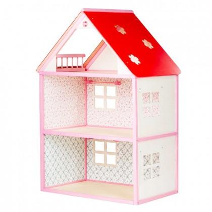 Linnamaja Roosi, roosa, UUED TOOTED, Nukud, nukuvankrid, nukumajad, Mänguasjad