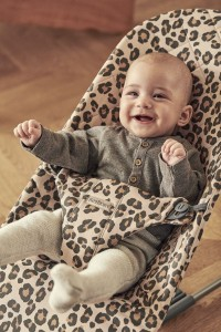 Babybjörn Bouncer Bliss Cotton lamamistool, Beige-Leopard, SOODUSPAKKUMISED, UUED TOOTED, Beebi- ja lastetarbed, Lamamistoolid ja kiiged