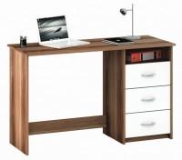 Kirjutuslaud Aristote merano/valge, Lastelauad, toolid, Arvuti-ja kirjutuslauad, Kirjutuslauad