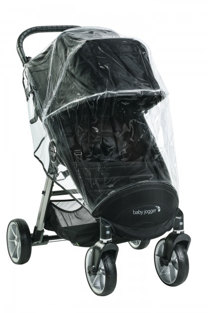 Baby Jogger City Mini 4W 2 vihmakile