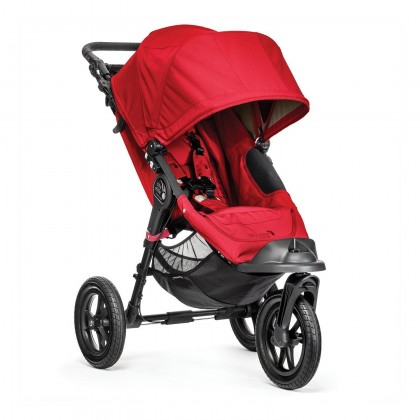 Baby Jogger jalutuskäru City Elite, Red