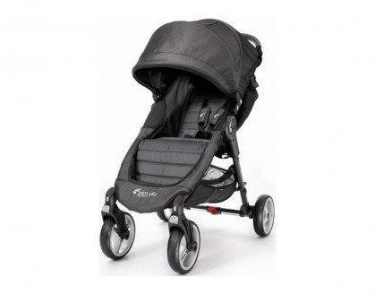 Baby Jogger jalutuskäru City Mini 4W Charcoal