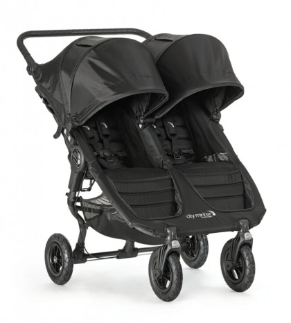 Baby Jogger jalutuskäru City Mini Double GT, Black