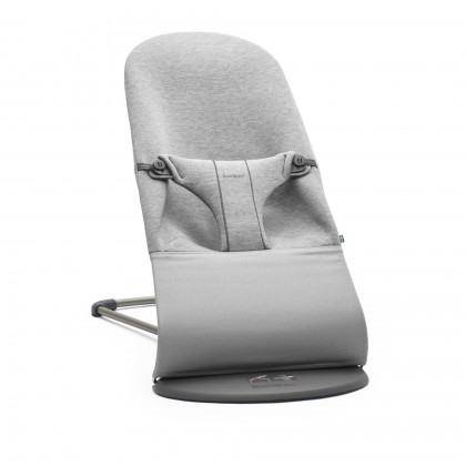 Babybjörn Bouncer Bliss 3D Jersey lamamistool, Light Grey