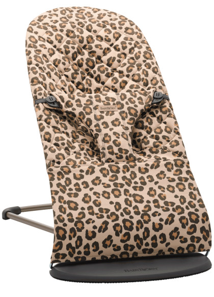 Babybjörn Bouncer Bliss Cotton lamamistool, Beige-Leopard