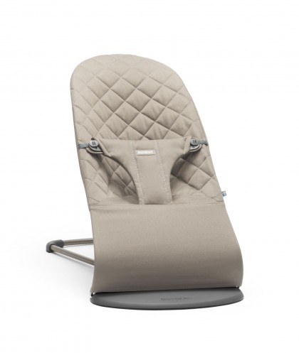 Babybjörn Bouncer Bliss Cotton lamamistool, Sand Grey