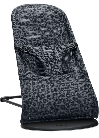 Babybjörn Bouncer Bliss Mesh lamamistool, Anthracite-Leopard