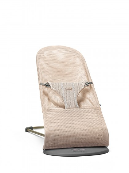 Babybjörn Bouncer Bliss Mesh lamamistool, Pearly Pink