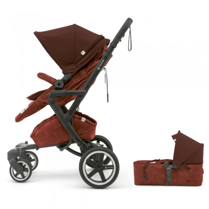 Concord NEO Plus Baby-Set 2in1 vanker-jalutuskäru, Autumn Red
