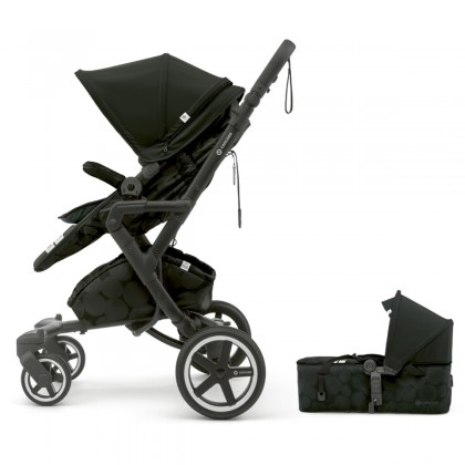 Concord NEO Plus Baby-Set 2in1 vanker-jalutuskäru, Shadow Black
