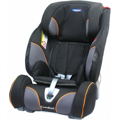 Klippan Triofix Comfort, Black Orange