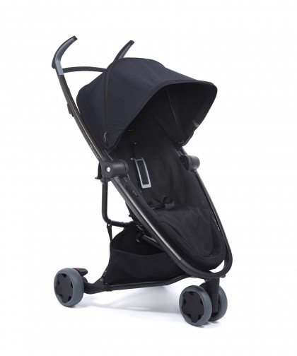 Quinny Zapp Flex jalutuskäru, Black on Black
